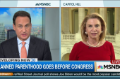 Planned Parenthood goes before Congress