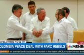 Colombia makes peace deal with FARC rebels