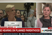 Boxer: Planned Parenthood fight about...
