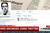 Edward Snowden joins Twitter