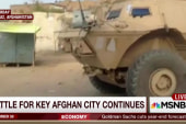 Battle for key Afghan city continues