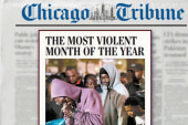US city sees most violent month of the year
