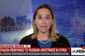Pentagon responds to Russian strikes in Syria