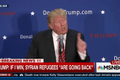 Trump says Syrian refugees are 'going back'