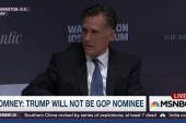 Romney: Trump will not be the GOP nominee
