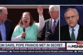 The Pope, Kim Davis, and the secret meeting