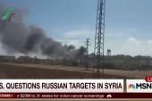 Russia's claims to battling ISIS in doubt