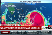 Hurricane Joaquin intensifying