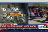 Umpqua student on campus lockdown