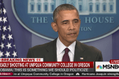 Obama hits policy failure on gun violence