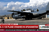 US C-130 plane crash in Afghanistan kills 13