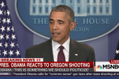 Pres. Obama: 'We should politicize' shootings
