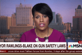 Baltimore mayor addresses gun safety laws
