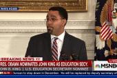 John King announced as Education Secy.