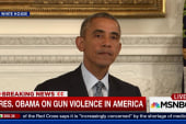 Obama slams congress on gun control inaction
