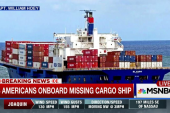 28 Americans onboard missing cargo ship
