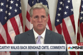 McCarthy walks back Benghazi committee...