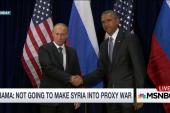 Obama slams Putin over Syria bombing campaign
