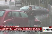 Catastrophic flooding in the Carolinas