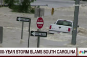 Storm slams into South Carolina