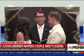 SC councilmember marries couple during storm