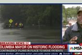 Columbia, SC mayor on historic flooding