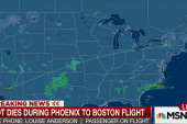 Pilot dies during Phoenix to Boston flight