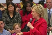 Clinton calls out GOP rivals on guns