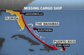 Search continues to survivors of cargo ship