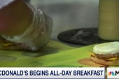 McDonald's begins all-day breakfast