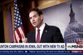 Rubio gains momentum, Clinton campaigns in...