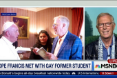 Pope Francis met with gay former student