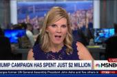 Trump campaign has spent just $2 million