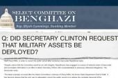 Clinton's campaign fights back on Benghazi