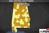 Emergency AL budget closes dozens of DMVs