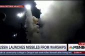 Russia launches missiles in Syria