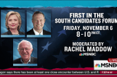 Rachel Maddow to moderate candidates forum