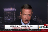 O'Malley champing at the bit for 1st debate