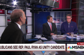 'I don't think Paul Ryan has any choice'