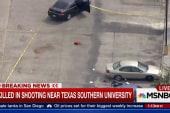 Shooting near Texas Southern University
