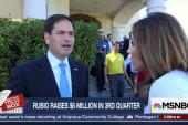 Rubio upbeat despite low fundraising numbers