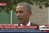 President Obama comments in Roseburg
