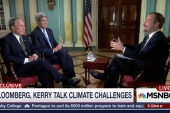 Exclusive: Kerry, Bloomberg  Take Climate...