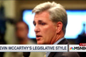 Deep dive into McCarthy's legislative style
