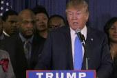 Trump dwindling in polls, but still leads