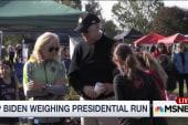Joe Biden weighing presidential run