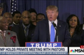 Inside Trump's private meeting with pastors