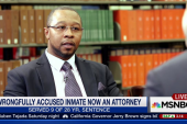 Wrongfully accused inmate now an attorney
