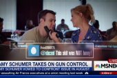 Amy Schumer and SNL take on gun control