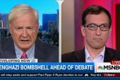 Benghazi bombshell ahead of Democratic debate